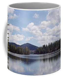 Lake Placid Coffee Mug by John Telfer