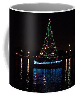 West End Boat Parade - Lights On The Lake, Lake Pontchartrain, New Orleans La Coffee Mug
