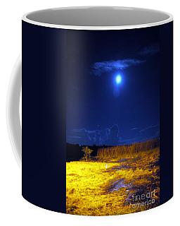 Moonrise Over Rochelle - Portrait Coffee Mug
