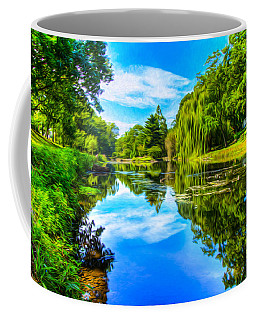 Lake Scene Coffee Mug