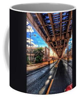 Lake Street El Tracks Coffee Mug