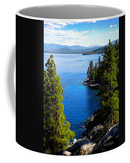 Lake Tahoe From The Rubicon Trail Coffee Mug