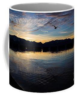 Lake Tahoe Sunset Coffee Mug by Suzanne Luft