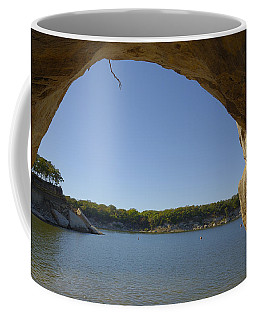 Lake Texoma Eisenhower State Park  Texas Coffee Mug by Charles Beeler