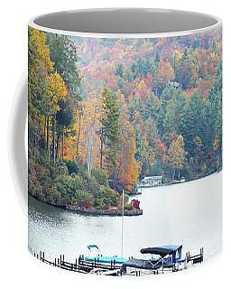 Lake Toxaway In The Fall Coffee Mug