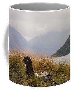 Lake Wakatipu Bench Coffee Mug