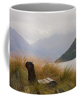 Lake Wakatipu Bench Coffee Mug