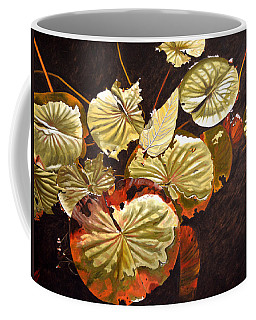 Lake Washington Lily Pad 11 Coffee Mug
