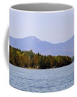 Lake Winnipesaukee Coffee Mug by Adrian LaRoque