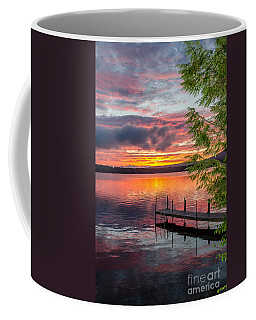 Lake Winnisquam Sunrise 2 Coffee Mug by Mike Ste Marie