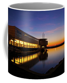Lakefront Sunrise Coffee Mug by Jonah  Anderson