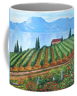 Lakeside Vineyard Coffee Mug