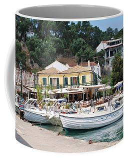 Lakka Harbour On Paxos Coffee Mug