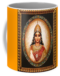 Lakshmi Goddess Of Abundance Coffee Mug