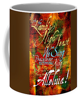 High Feast Of The Lamb Coffee Mug by Chuck Mountain