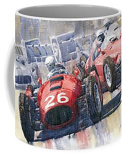 Lancia D50 Alberto Ascari Monaco 1955 Coffee Mug