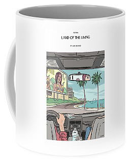Land Of The Living Illustration By Dan Clowes Coffee Mug