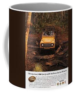 Land Rover Defender 90 Ad Coffee Mug