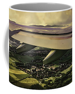 Landing Coffee Mug by Muhie Kanawati