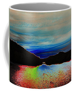 Landscape Abstract Coffee Mug