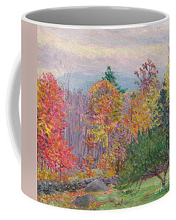 Landscape At Hancock In New Hampshire Coffee Mug