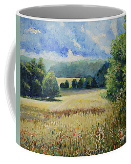 Landscape Near Russian Border Coffee Mug