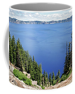 Landscape Of Crater Lake, Crater Lake Coffee Mug