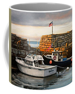 Lanes Cove Fishing Boats Coffee Mug
