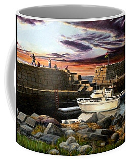 Lanes Cove Gloucester Coffee Mug by Eileen Patten Oliver