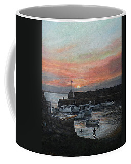 Lanes Cove Sunset Coffee Mug by Eileen Patten Oliver