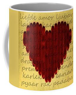 Languages Of Love Coffee Mug