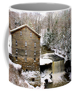 Lanterman's Mill In Winter Coffee Mug