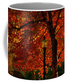 Lantern In Autumn Coffee Mug