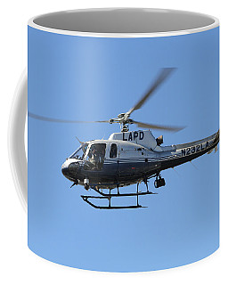 Lapd In Flight Coffee Mug by Shoal Hollingsworth
