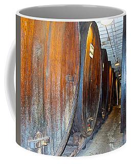 Large Barrels At Korbel Winery In Russian River Valley-ca Coffee Mug