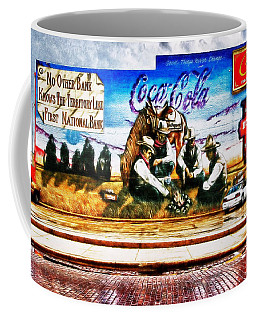 Large North Platte Wall Mural Coffee Mug