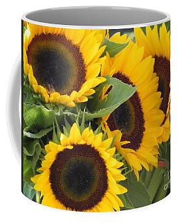 Large Sunflowers Coffee Mug