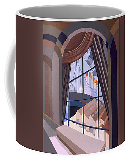 Large Window With A Seat, From Relais Coffee Mug