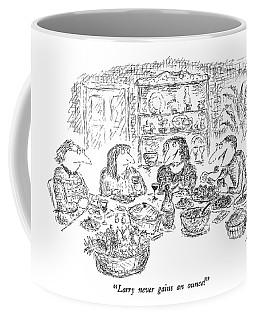 Larry Never Gains An Ounce! Coffee Mug