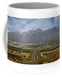 Las Cruces New Mexico Panorama Coffee Mug by Jack Pumphrey