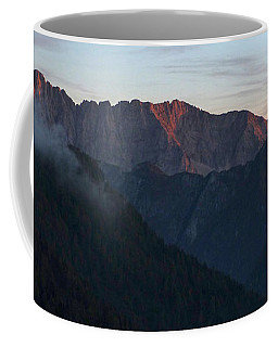 Last Evening Rays - Julian Alps Coffee Mug