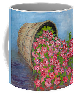 Coffee Mug featuring the painting Last Flowers Of Summer by Sharon Schultz