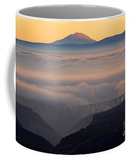 Last Light Over Mt. Adams Coffee Mug