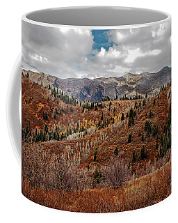 Last Of The Fall Colors In The Wasatch Range Coffee Mug