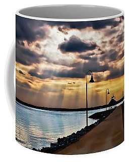Coffee Mug featuring the photograph Last Rays by Greg Jackson