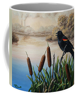 Marsh Bird Coffee Mugs