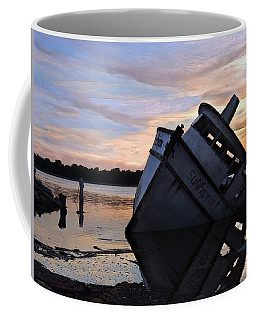Coffee Mug featuring the photograph Last Resting Place by Laura Ragland