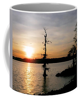 Coffee Mug featuring the photograph Last Sunset Of 2012 by Victor Montgomery