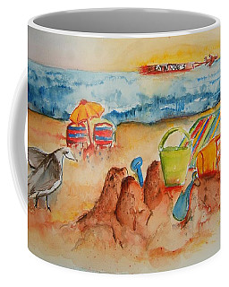 Late Afternoon Beach Coffee Mug