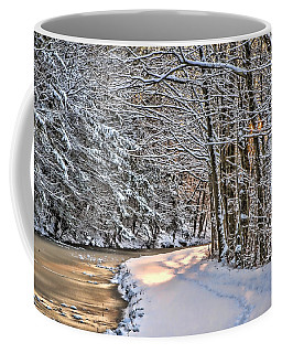 Late Afternoon In The Snow Coffee Mug